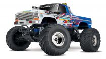 TRX36034-1-FLME - BIGFOOT FLAME- 4x2 - 1/10 BRUSHED TQ 2.4GHZ - iD - TRAXXAS