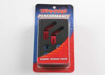 TRX3652X - TRAXXAS - FUSEES ALU 6061-T6 ANODISEES ROUGE (2) RUSTLER/STAMPEDE/BANDIT