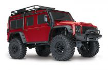 TRX4 LAND ROVER DEFENDER ROUGE - TRX82056-4-RED - TRAXXAS 82056-4-RED
