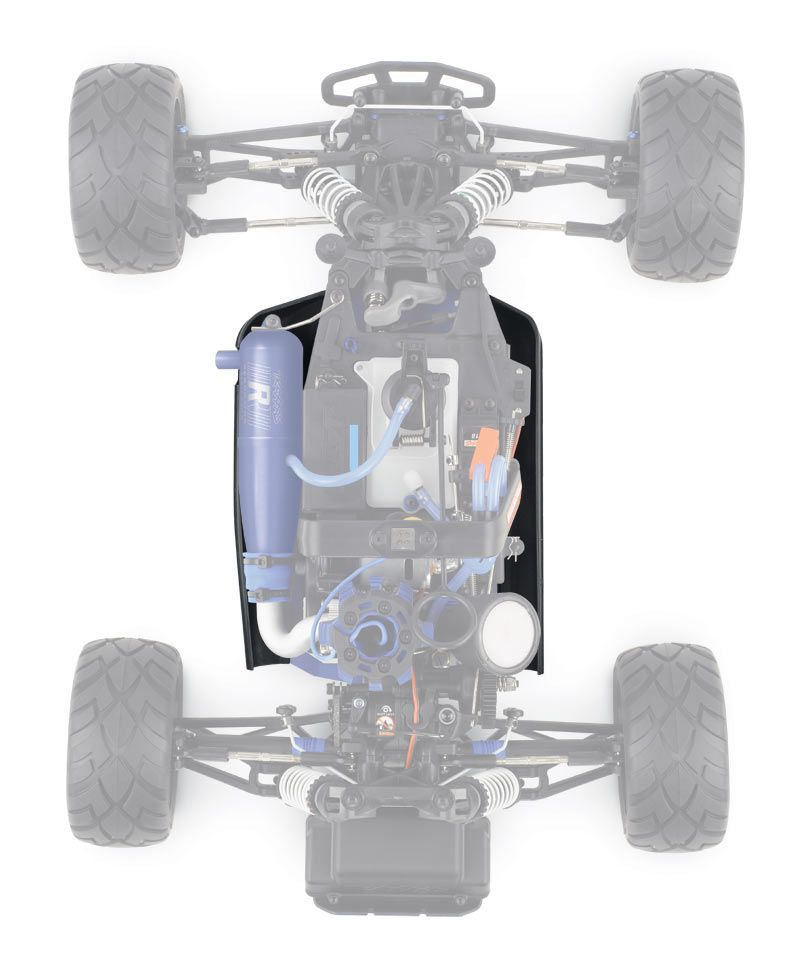 TRX55077-3-ORNG - JATO 3.3 - ORANGE - 4x2 - 1/10 NITRO - TELEMETRIE - TSM - TRAXXAS
