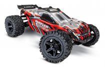 TRX67064-1 - RUSTLER 4x4 ROUGE - 1/10 BRUSHED STADIUM TRUCK TQ 2.4GHZ - Batterie et Chargeur inclus - TRAXXAS