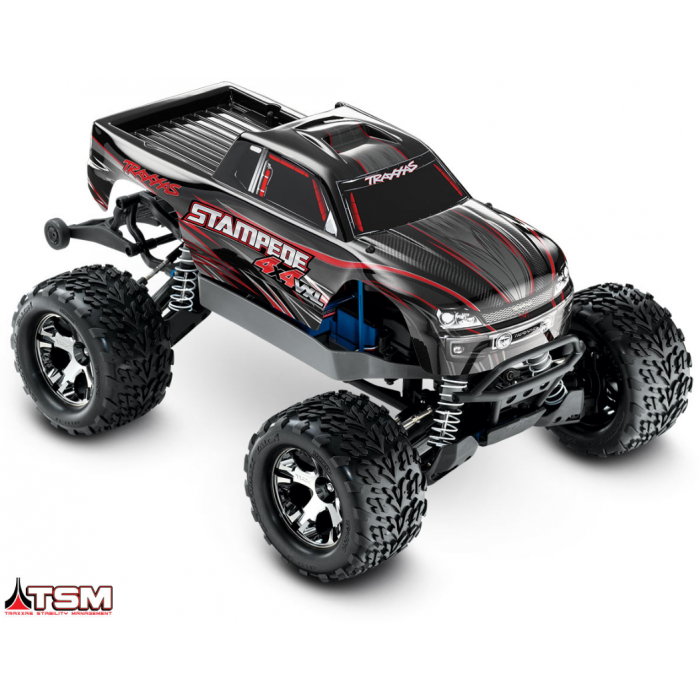 TRX67086-4 - STAMPEDE 4x4 VXL - 1/10 BRUSHLESS -iD - TSM- SANS ACCUS/CHARGEUR - TRAXXAS