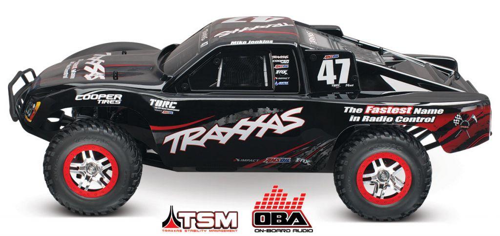 TRX68086-24 - SLASH - 4x4 OBA - MIKE JENKINS - 1/10 BRUSHLESS - TSM - iD - SANS AQ/CHG - TRAXXAS