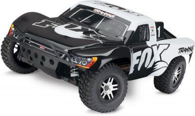TRX68086-24-FOX - SLASH 4x4 OBA - FOX - 1/10 BRUSHLESS - TSM - iD - SANS AQ/CHG - TRAXXAS