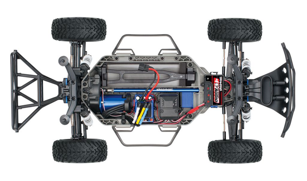 TRX68086-24-FOX - SLASH 4x4 OBA - FOX - 1/10 BRUSHLESS - TSM - iD - SANS AQ/CHG - TRAXXAS