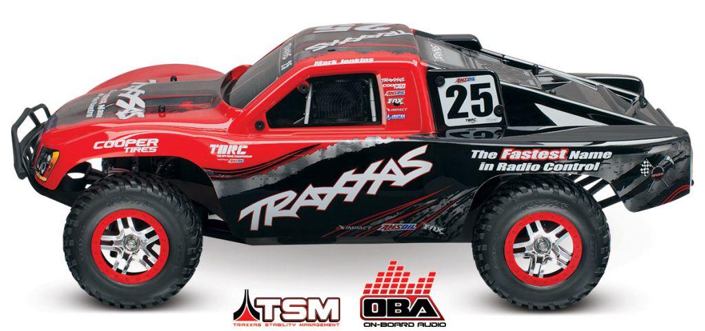 TRX68086-24-MARK - SLASH 4x4 OBA MARK JENKINS 1/10 BRUSHLESS TSM iD - SANS AQ/CHG - TRAXXAS
