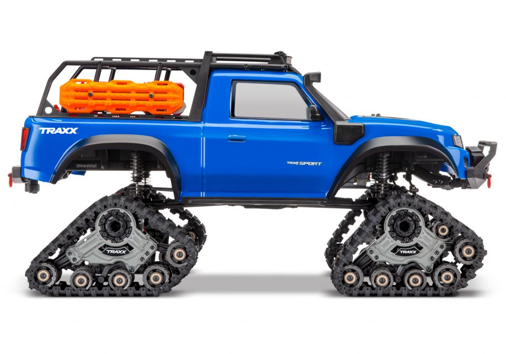 TRX82034-4-BLUE - TRX-4 TRAXX BLEU - TRAXXAS