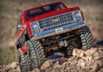 trx82076-4 - TRAXXAS - TRX-4 Chevrolet K5 Blazer Rood