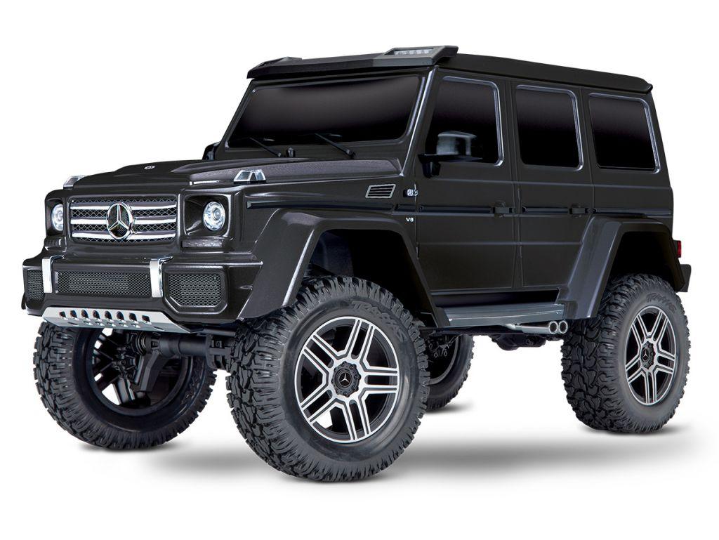 TRX82096-4-BLUE - TRAXXAS - TRX-4 Mercedes G-500 4X4 BLEU