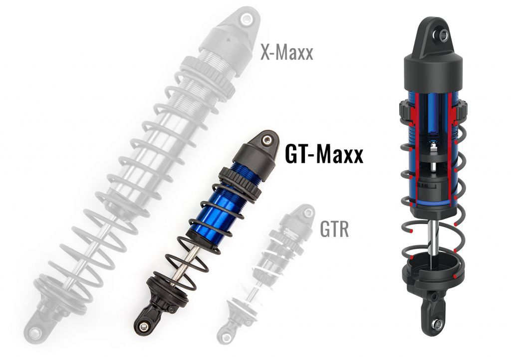 TRX89076-4-ORNG - MAXX - 4x4 - ORANGE - 1/10 BRUSHLESS - TSM - SANS AQ/CHG - TRAXXAS