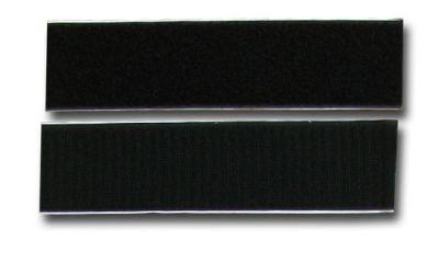 Velcro autocollant noir 50mm x 20cm (2) - S0448821