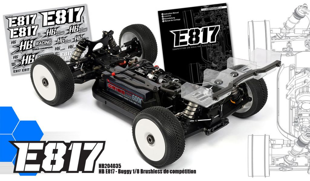 Voiture 1/8 BLS Buggy - HB E817