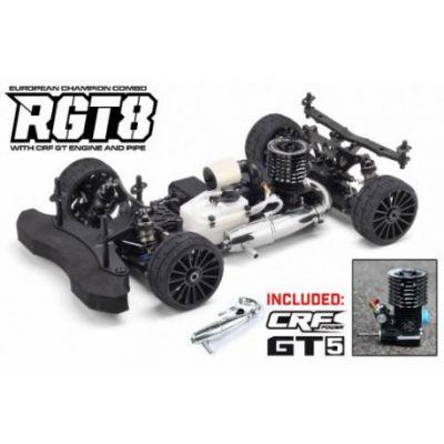Voiture 1/8 Buggy HB RGT8 Combo + CRF GT5 + Echappement Complet