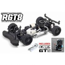 Voiture 1/8 Buggy HB RGT8 Combo + CRF GT5 + Echappement Complet
