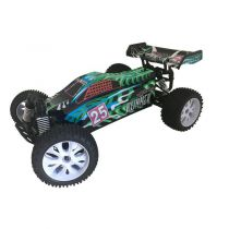 VOITURE RUNNER VERTE  1/10 4x4 BRUSHED RTR
