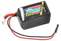 VZ0250 - accu de réception plat VOLTZ 1600mah 2S 6.6V RX LiFe