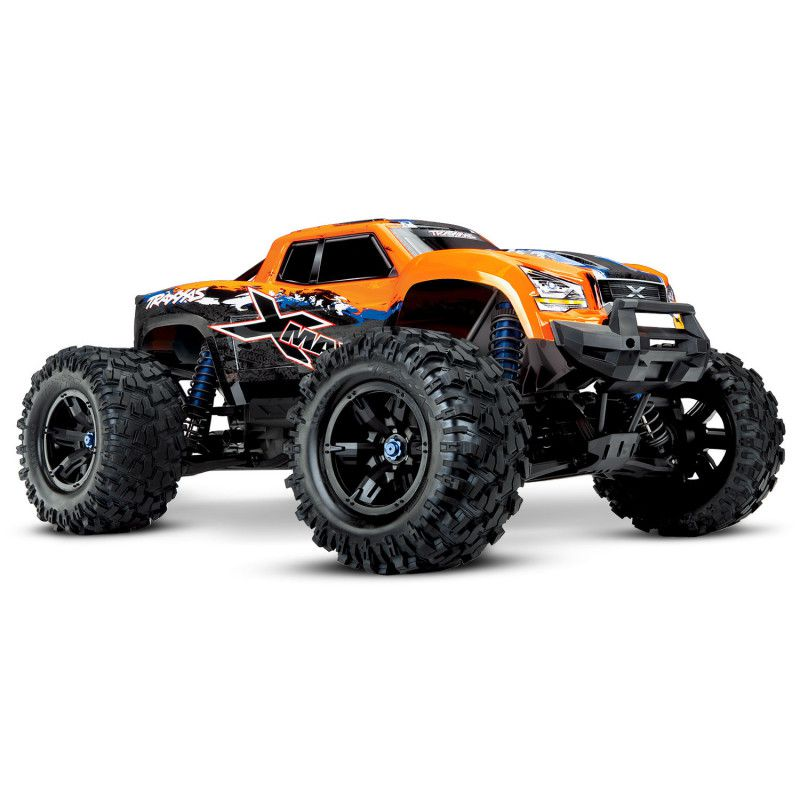 X-MAXX 4X4 - 8S - BRUSHLESS - WIRELESS - ID - TSM - TRX77086-4-ORNGX - TRAXXAS