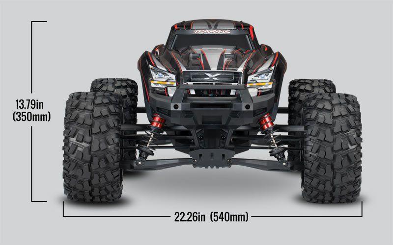 X-MAXX 4X4 - 8S - BRUSHLESS - WIRELESS - ID - TSM