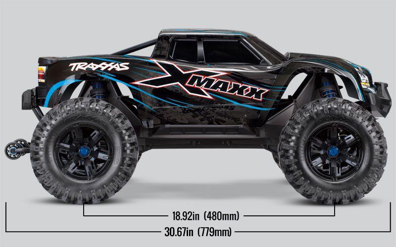 X-MAXX 4X4 VERT - 8S - BRUSHLESS - WIRELESS - ID- TSM - TRX77086-4-GRN - TRAXXAS