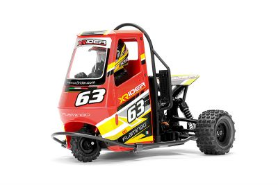 X-RIDER FLAMINGO 1/8 RC TRICYCLE RTR - Rouge  XR-83001-01