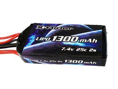 X-RIDER FLAMINGO LIPO 7.4V 25C 1300MAH XR-MS8145