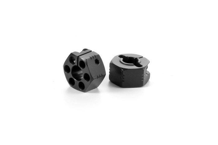 XB4 Hexagones de roue 12mm  +2.25mm (2)- 365357