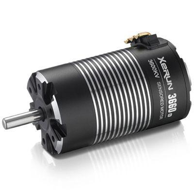 XERUN-3660SD-G2-3200KV-BLACK-5mm+pignon 48dp 23T