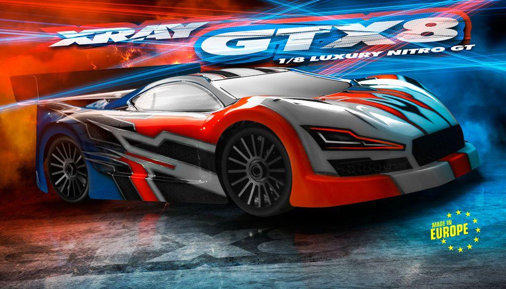 XRAY GTX8 1/8 GT - 2017