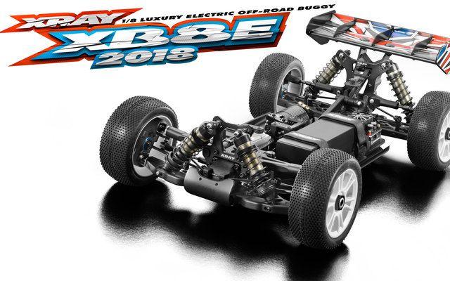 XRAY XB8 TT 1/8 Electronique - 2018 - 350155