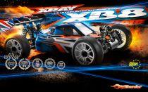 XRAY XB8 TT 1/8 Thermique Nitro - 2018 - 350013
